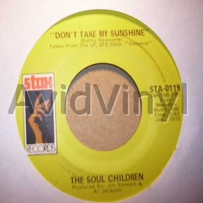 SOUL CHILDREN - Don't Take My Sunshine / Hearsay Album