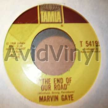 MARVIN GAYE - The End Of Our Road / Me And My Lonely Room Album