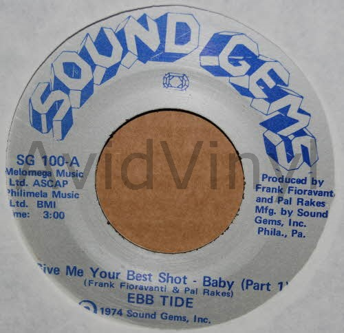 EBB TIDE - Give Me Your Best Shot Baby / Pt2