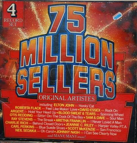 75 MILLION SELLERS ORIGINAL ARTISTS BOX SET X 4 LP S by VARIOUS
