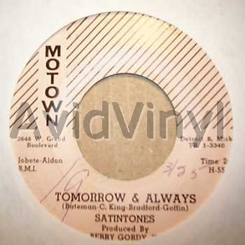 satintones tomorrow and always / a love that can never be