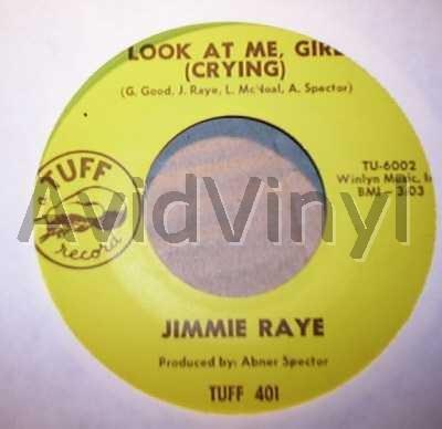 JIMMIE RAYE - LOOK AT ME GIRL / I TRIED - 7inch x 1