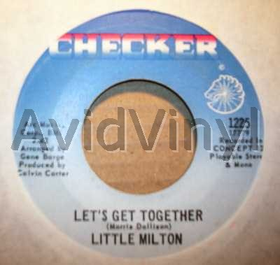 LITTLE MILTON - Let's Get Together / I'll Always Love You CD