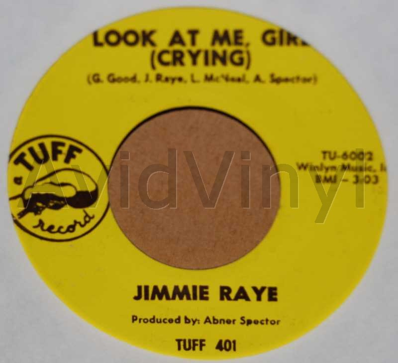 JIMMIE RAYE LOOK AT ME GIRL / I TRIED