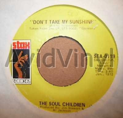 Don't Take My Sunshine / Hearsay - SOUL CHILDREN