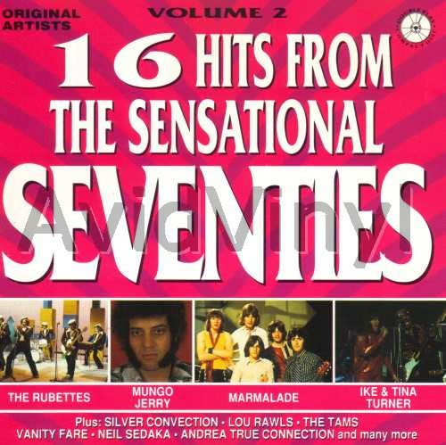 16 HITS FROM THE SENSATIONAL SEVENTIES VOLUME 2 by VARIOUS