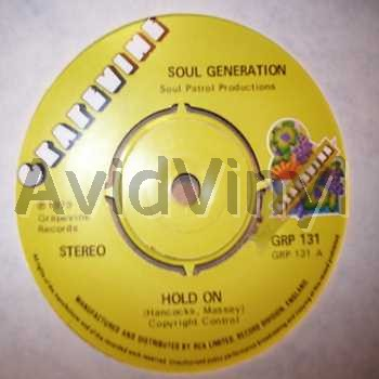 SOUL GENERATION - Hold On / The Lonely Sea