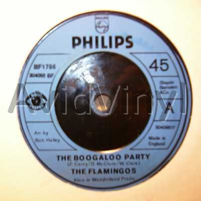 FLAMINGOS - The Boogaloo Party / The Nearness Of You