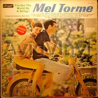 MEL TORME - I've Got The World On A String Album