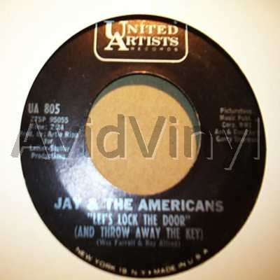 LET S LOCK THE DOOR I LL REMEMBER YOU by JAY AND THE AMERICANS
