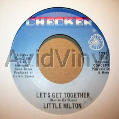 LITTLE MILTON - Let's Get Together / I'll Always Love You Album