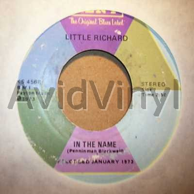 IN THE NAME DON T YOU KNOW I by LITTLE RICHARD