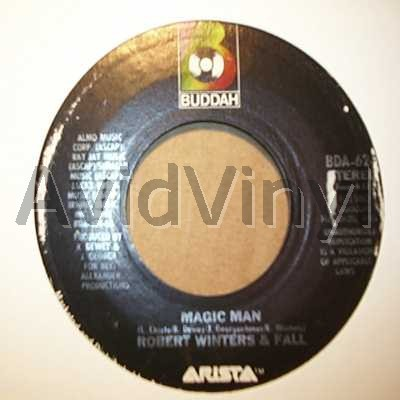ROBERT WINTERS AND FALL - MAGIC MAN / ONE MORE YEAR - 7inch x 1