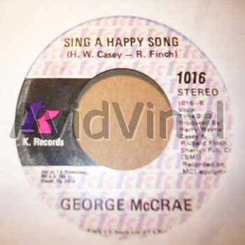 SING A HAPPY SONG HONEY I by GEORGE MCCRAE