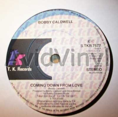 BOBBY CALDWELL - Coming Down From Love / Open Your Eyes