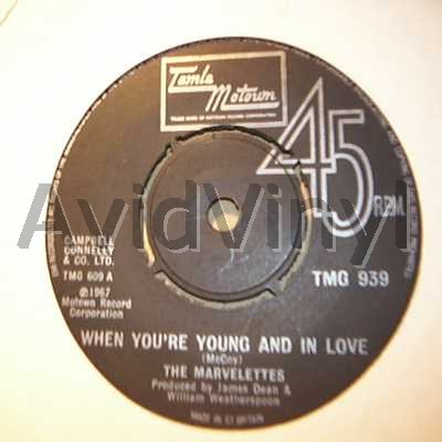 When Your Young And In Love / The Day You Take One - MARVELETTES