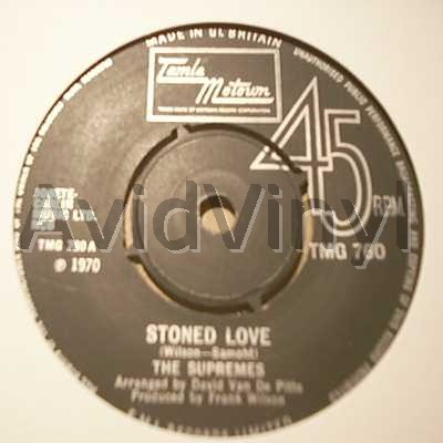 SUPREMES - Stoned Love / Shine On Me Album