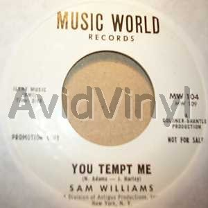 sam williams you tempt me / i can't stand the pain