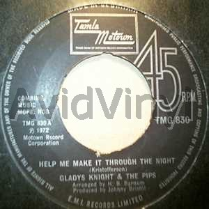 GLADYS KNIGHT & THE PIPS - Help Me Make It Through The Night / If You Gonna Leave