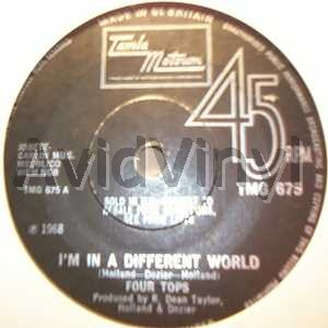 FOUR TOPS - I'm In A Different World / Remember When Album