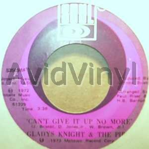 GLADYS KNIGHT & THE PIPS - Can't Give It Up No More / Neather One Of Us