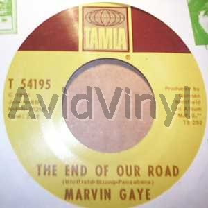 MARVIN GAYE - The End Of Our Road / Me And My Lonely Room Record
