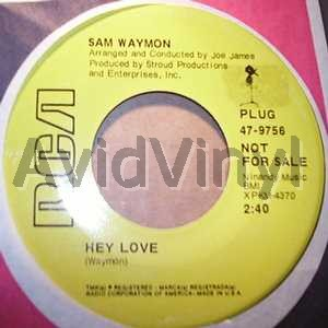 Sam Waymon - I Love You / You Can Count On Me