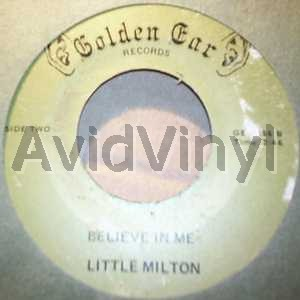 Believe In Me / Catch The Plane - LITTLE MILTON