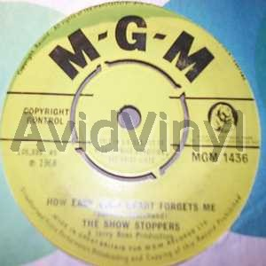 SHOW STOPPERS - HOW EASY YOUR HEART FORGETS ME / ENNY MEENY - 7inch x 1