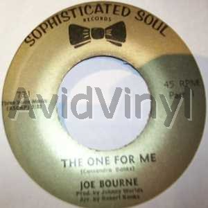 JOE BOURNE BAND - The One For Me / The One For Me Pt2 Single
