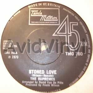 SUPREMES - Stoned Love / Shine On Me LP