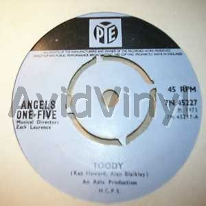 ANGELS ONE FIVE - Toody / That Was Yesterday