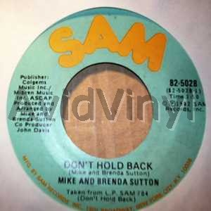 MIKE & BRENDA SUTTON - Don't Hold Back / Pt2