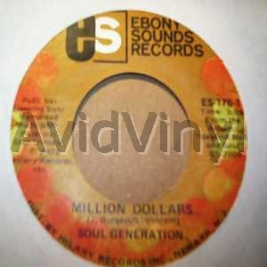 SOUL GENERATION - Million Dollars / Super Fine