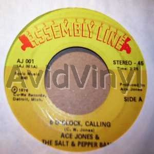 5 OCLOCK CALLING FRANCIS by ACE JONES AND THE SALT AND PEPPER BAND