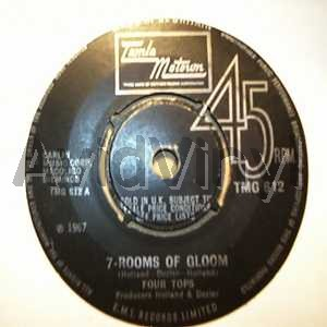 FOUR TOPS 7 ROOMS OF GLOOM / TURN TO STONE
