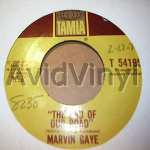 The End Of Our Road / Me And My Lonely Room - MARVIN GAYE