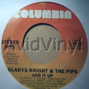 GLADYS KNIGHT & THE PIPS - Add It Up / Taste Of Bitter Love