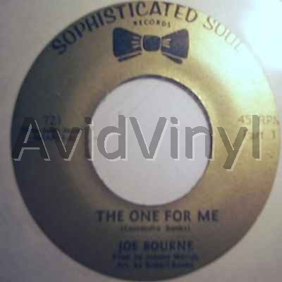 JOE BOURNE BAND - The One For Me / The One For Me Pt2 CD