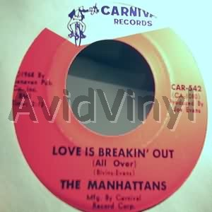 MANHATTANS - Love Is Breakin Out / I Don't Wanna Go