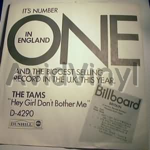 Tams Near Me >> Tams Hey girl don t bother me (Vinyl Records, LP, CD) on ...