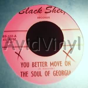 soul of georgia you better move on / cool