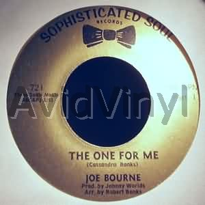 JOE BOURNE - The One For Me / The One For Me Pt2