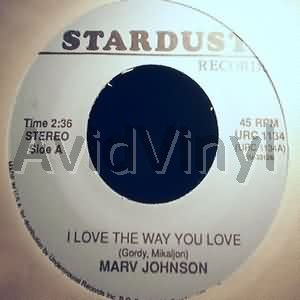 I LOVE THE WAY YOU LOVE COME TO ME by MARV JOHNSON