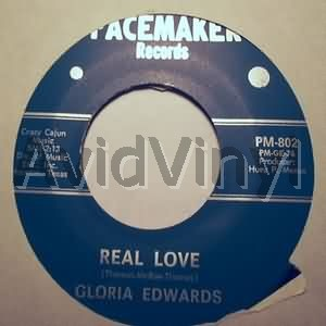 GLORIA EDWARDS - REAL LOVE / BLUES PART 2 - 45T x 1