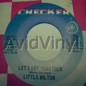 LITTLE MILTON - Let's Get Together / I'll Always Love You LP
