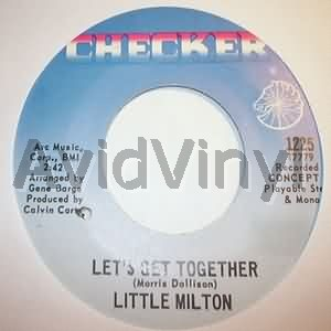 LITTLE MILTON - Let's Get Together / I'll Always Love You Record
