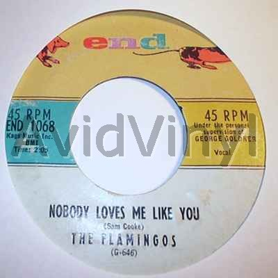 FLAMINGOS - Nobody Loves Me Like You / You Me And The Sea