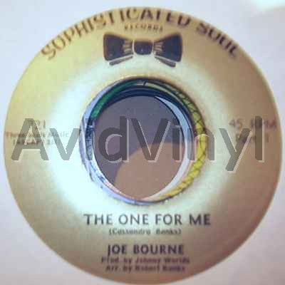 The One For Me / The One For Me Pt2 - JOE BOURNE