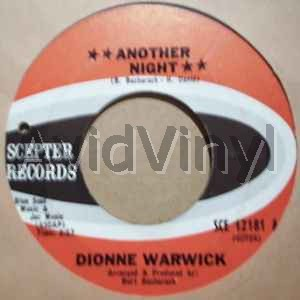 DIONNE WARWICK ANOTHER NIGHT / GO WITH LOVE